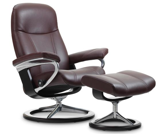 fauteuil relax stressless consul. Black Bedroom Furniture Sets. Home Design Ideas