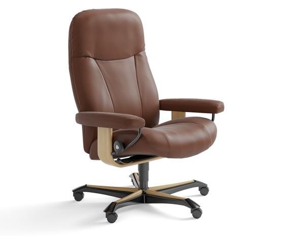 Si ges et fauteuils de bureau ergonomiques stressless - Fauteuil bureau stressless ...