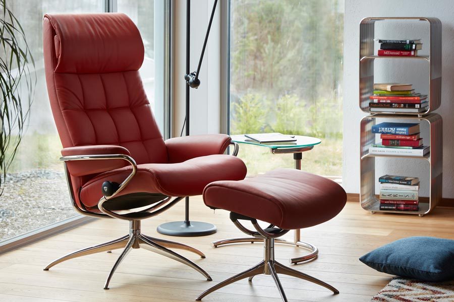fauteuil design stressless london high back office stressless. Black Bedroom Furniture Sets. Home Design Ideas