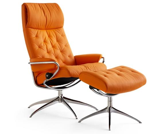 Fauteuil Design Vintage grand confort, le Stressless Metro high base ...