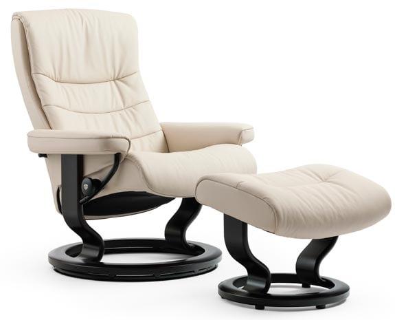 fauteuil scandinave stressless nordic. Black Bedroom Furniture Sets. Home Design Ideas