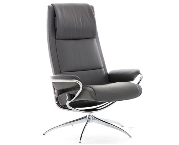 fauteuil moderne stressless paris high back. Black Bedroom Furniture Sets. Home Design Ideas