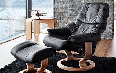 fauteuil relax stressless reno. Black Bedroom Furniture Sets. Home Design Ideas