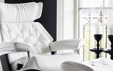 Fauteuil grand confort design Stressless Skyline. (image zoomée)