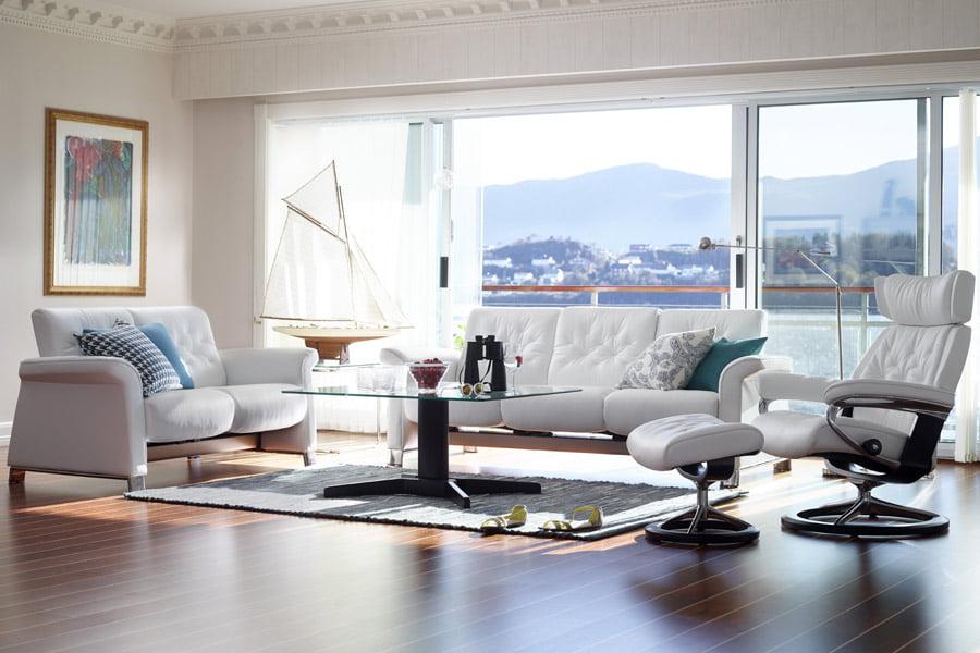 Fauteuil Relax Stressless Skyline S Classic Stressless - Canapé et fauteuil design