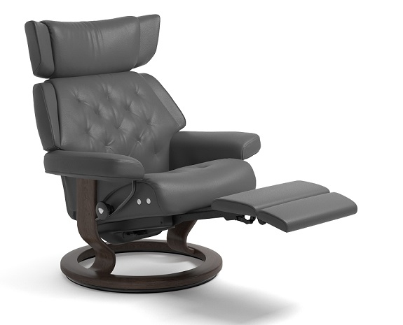 fauteuil design inclinable stressless skyline classic m moderne repose pieds int gr. Black Bedroom Furniture Sets. Home Design Ideas