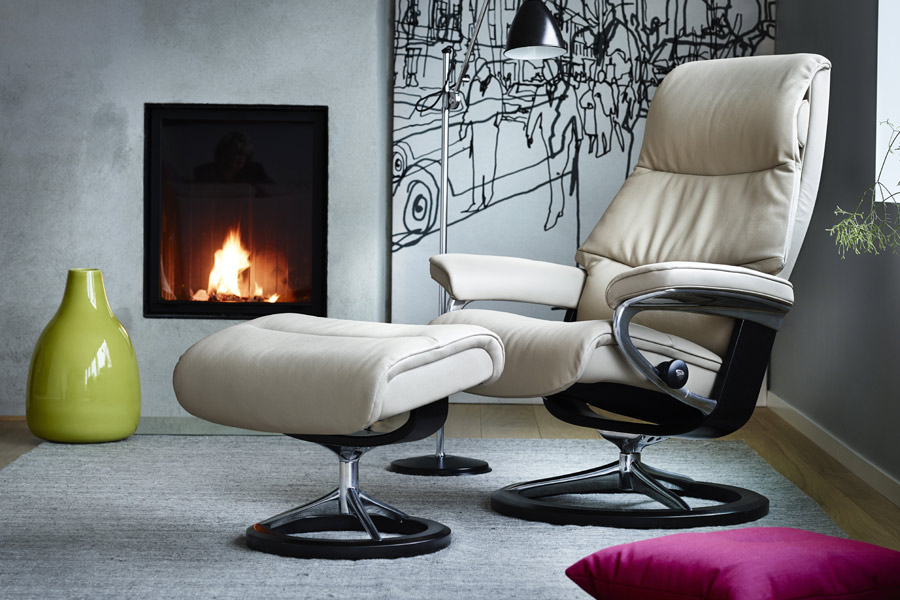 fauteuil relax fauteuil stressless view. Black Bedroom Furniture Sets. Home Design Ideas