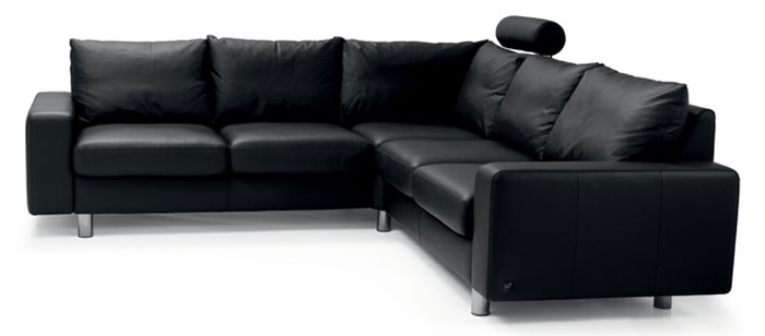 canap contemporain stressless e200 2 places complet stressless. Black Bedroom Furniture Sets. Home Design Ideas