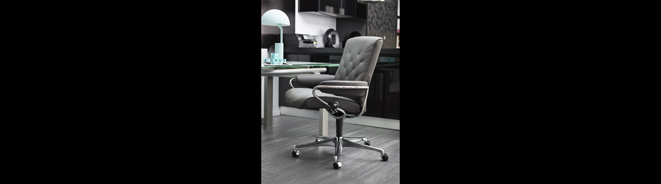 fauteuil de bureau haut de gamme stressless site officiel. Black Bedroom Furniture Sets. Home Design Ideas