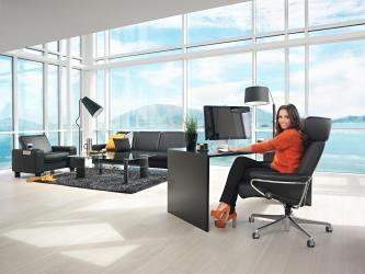 fauteuil de bureau luxe stressless site officiel. Black Bedroom Furniture Sets. Home Design Ideas