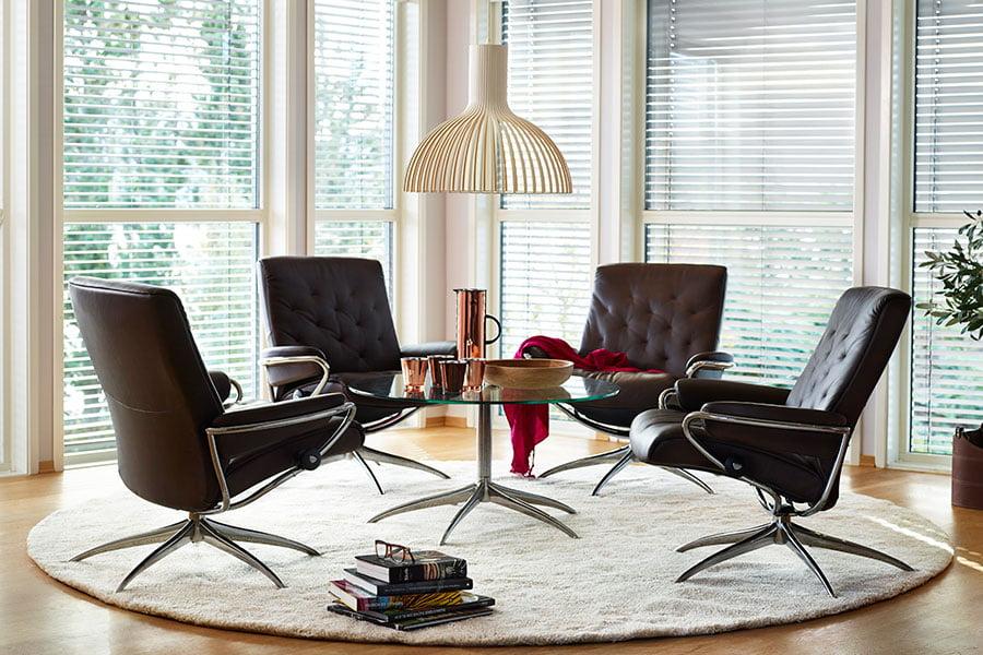 fauteuils design grand confort stressless metro low back moderne tendance. Black Bedroom Furniture Sets. Home Design Ideas