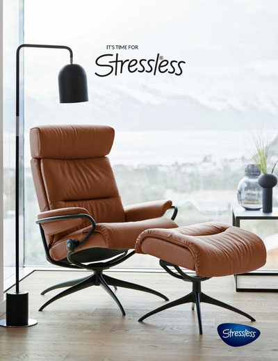 Stressless Catalogue cover